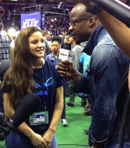 Teen Quarterback Karlie Harman Shows Super Bowl What It ...