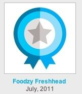 foodzy badge