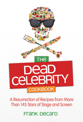dead celebrities cookbook