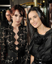 Rumer Willis and Demi Moore