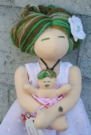 pregnant doll