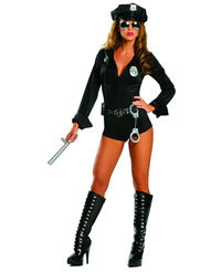 sexy police halloween costume