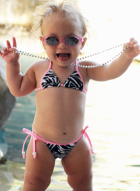 baby in bikini