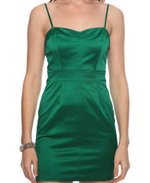 Forever 21 Emerald Green Dress