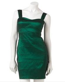 City Triangles Emerald Green Dress