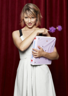 Dianna Agron as Quinn on 'Glee'