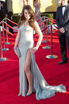 Lea Michele at the Screen Actors Guild Awards
