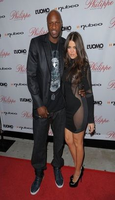 Khloe Kardashian and Lamar Odom