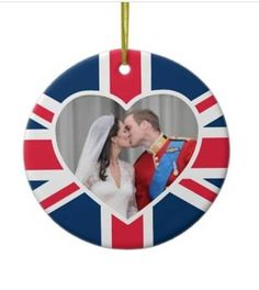 royal wedding ornament