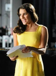 Lea Michele plays Rachel Berry on 'Glee'