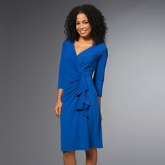 Queen latifah wrap dress