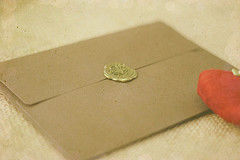 love letter envelope sealed