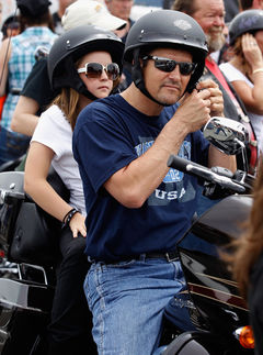 palin family rolling thunder rally