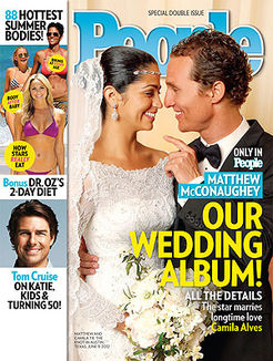 Camila Alves & Matthew McConaughey wedding photos