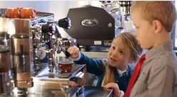 five-year-old barristas