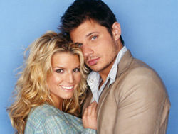 jessica simpson and nick lachey newlyweds