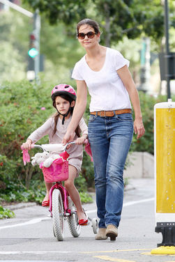 Katie Holme and Suri