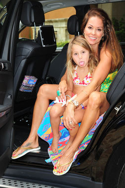 brooke burke daughter heaven rain