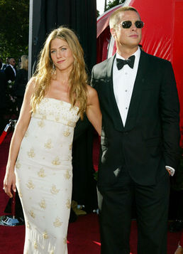 jennifer aniston brad pitt red carpet 2004