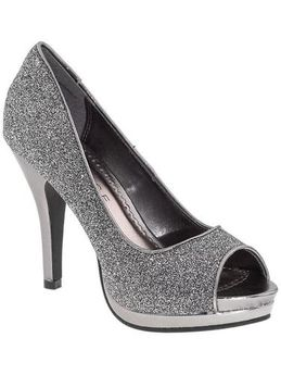 rampage pewter gracee pumps silver