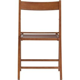 chair folding wooden