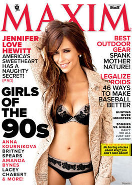 jennifer love hewitt cover of maxim