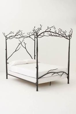 Anthropologie canopy bed