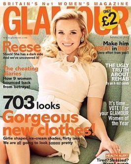 reese witherspoon glamour uk march 2012