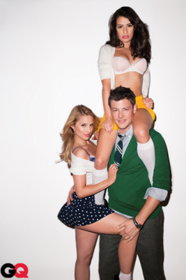 glee stars in GQ