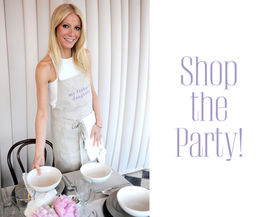 gwyneth paltrow dinner party