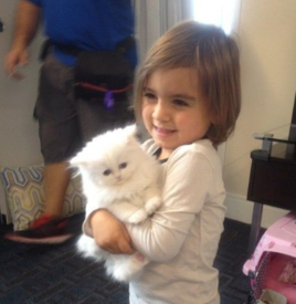 Mason Disick and Kim Kardashian's Cat