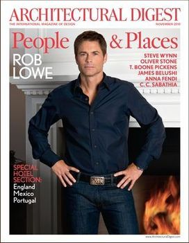 rob lowe architectural digest