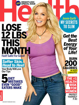 jennie garth health magazine