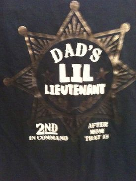 Dad's Little Lieutenant