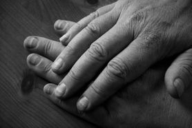 father's hands