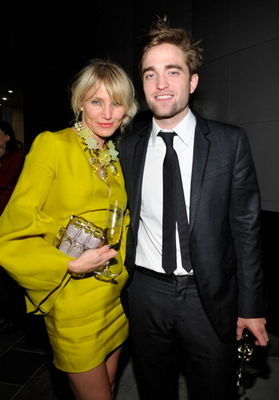 cameron diaz and robert pattinson