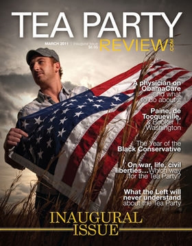 Tea Party Review cover