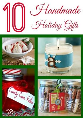 10 handmade holiday gifts