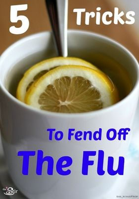 5 tricks to fend off the flu