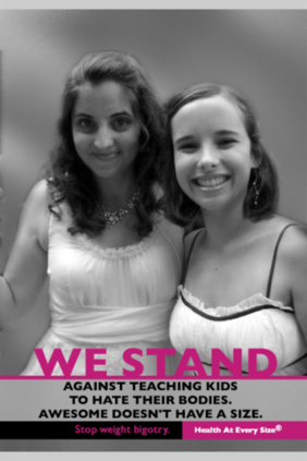 This is why 16-year-old Kate has volunteered her picture for the I Stand ...