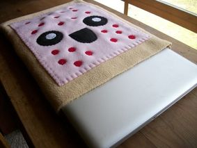 pop tart laptop sleeve