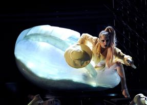 lady gaga egg