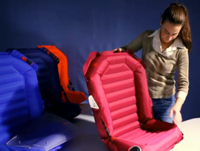 inflatable car seat