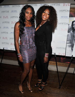 serena williams venus williams hamptons magazine