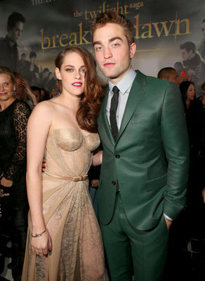 Robert Pattinson Kristen Stewart Breaking Dawn World Premiere