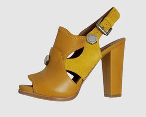 ochre platform sandals marc jacobs