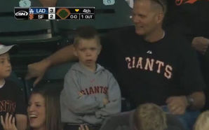 Pouting Kid San Francisco Giants