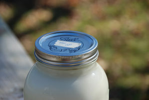 raw milk 
