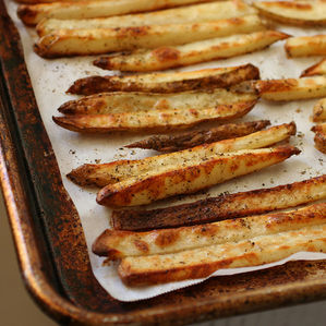 Oven Fries With Garlic & Parmesan | The Stir