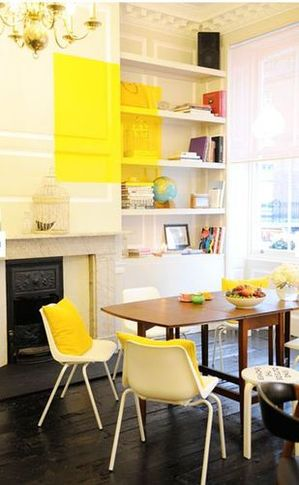 kate spade pop up shop dining room